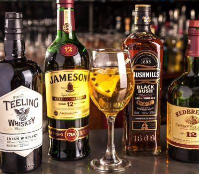 Hot Whiskey - Teelings, Jameson, Bushmills & Redbreast