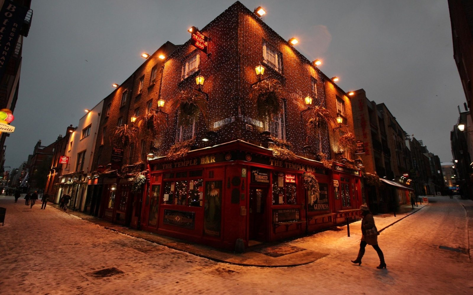 Temple Bar Treasure Hunt for New Year's