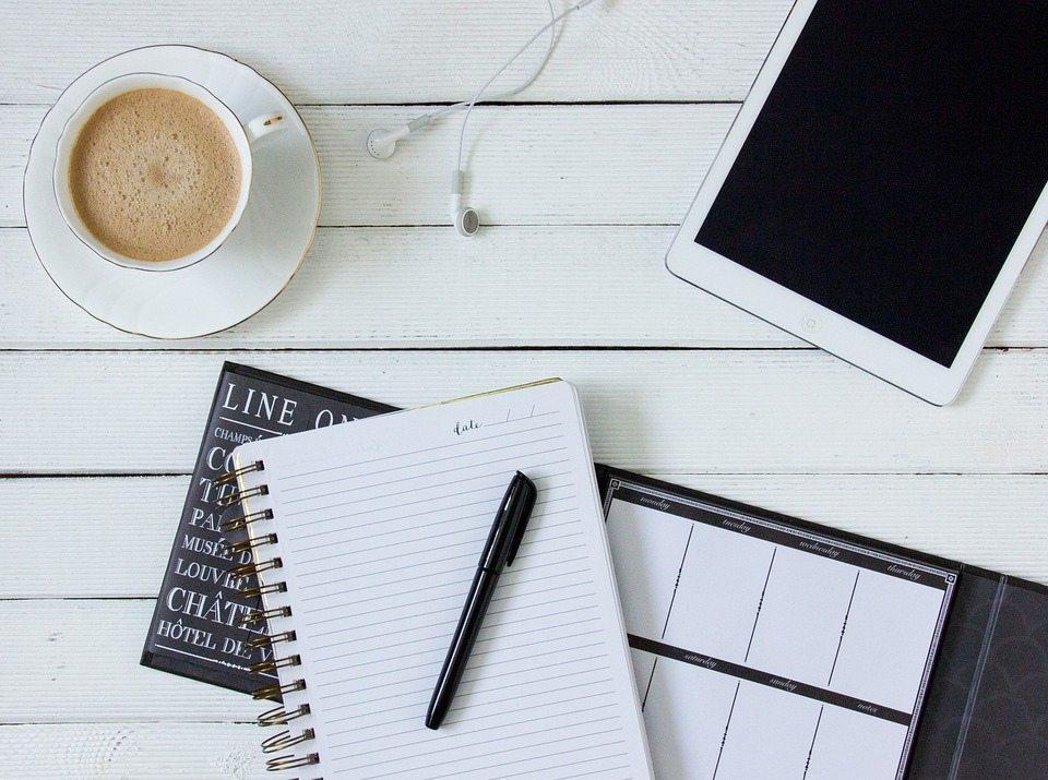 write an agenda
