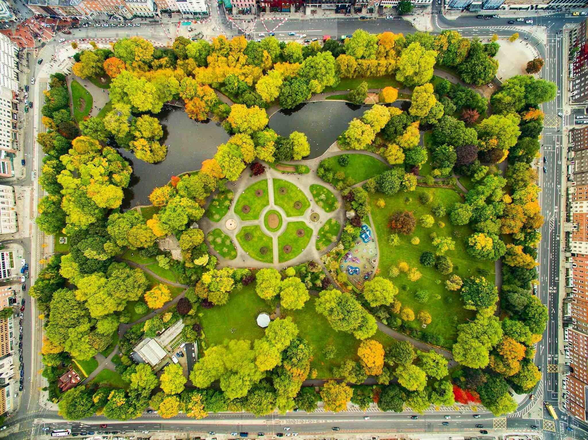 St Stephens Green Aerial View