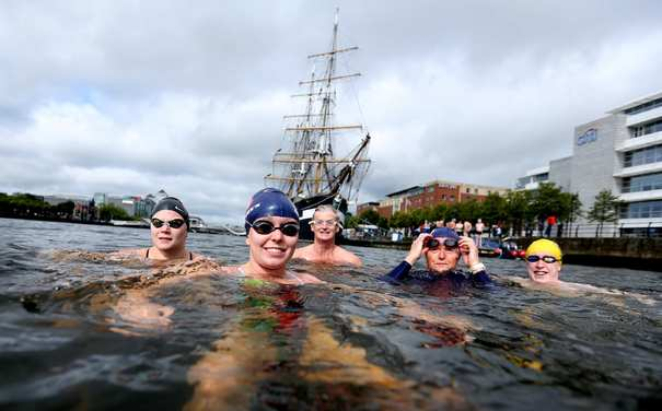 Dublin City Liffey Swim 2016