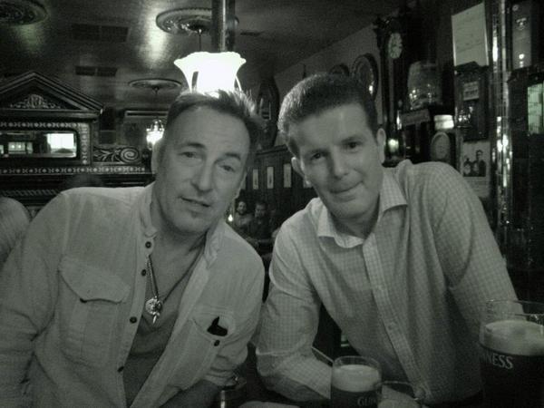 Bruce Springsteen The Long Hall Pub Dublin