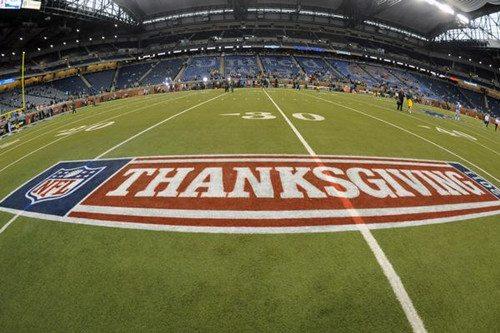American Football Thanksgiving