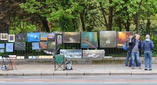 Merrion Square Art