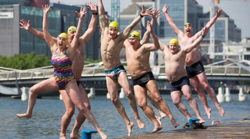 Dublin City Liffey Swim 2017